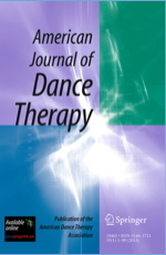 Cover image of the American Journal of Dance Therapy.